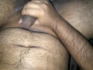 Hot Indian jerking and cumming!