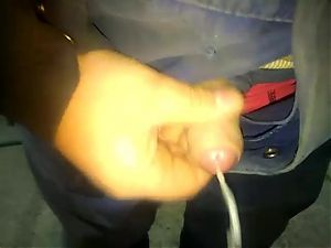 Jerking off at the workplace