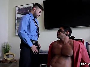 Mature man and yang boy hot fuck