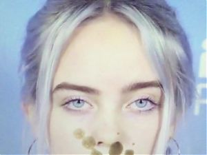 Billie Eilish Cumtribute 2.