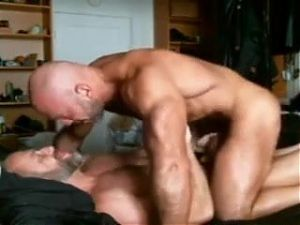 Joy of Being Together: Bearded Hunks KISSING-TEAT TEASE-BJs