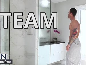 Men.com - Beau Reed and Manuel Skye - Steam - Gods Of Men