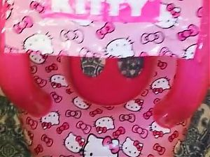 Inflatable Gonfiabile Hello Kitty Boat Canopy Vinyl Pvc